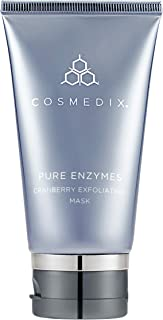 Cosmedix Pure Enzymes Cranberry Exfoliating Mask 2 oz, Pack of 1