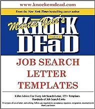 Knock 'em Dead Job Search Letter Templates: Plus 125 job search letter templates in MS Word