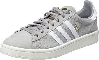 adidas Women's Campus Shoes, Tactile Rose/Footwear White/Crystal White