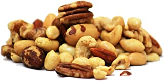 Roasted and Salted Mixed Nuts by Its Delish 5 lbs