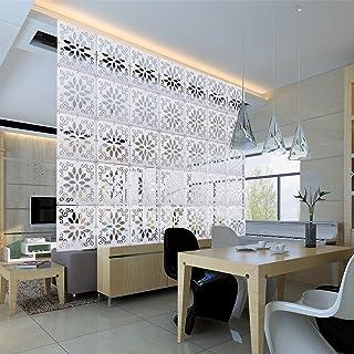 Kernorv DIY Room Divider Partitions Separator Hanging Decorative Panel Screens 12 PCS