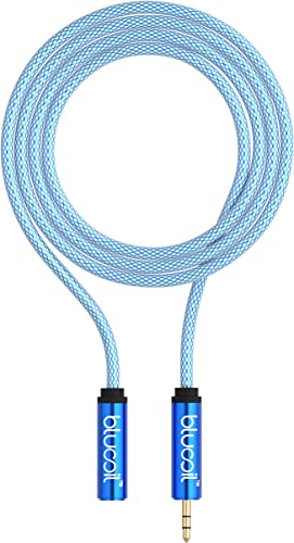 popular Blucoil 6-Foot Premium Extension Cable with high quality Stereo 3.5mm Male to Female online sale Connectors for Phones, Computers, MP3 Players, Portable Amps, Stereo Equipment, and More sale