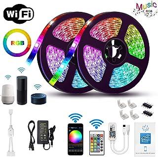 Gizmozs Tira LED, led lights, Luces LED con Kit, Tira de luz