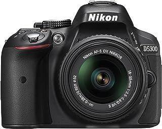Nikon D5300 24.2 MP CMOS Digital SLR Camera with 18-55mm f/3.5-5.6G ED VR Auto Focus-S DX NIKKOR Zoom Lens (Black)
