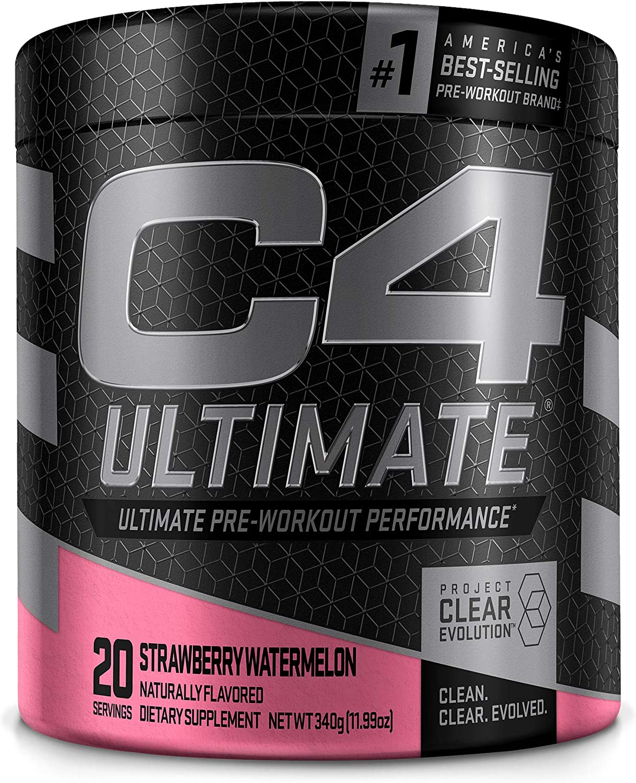 C4 Ultimate Dealing full price reduction Pre Workout Powder Preworkou Sugar Watermelon Free - Minneapolis Mall