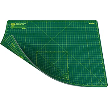 Pink//Red ANSIO A3 Double Sided Self Healing 5 Layers Cutting Mat Metric//Imperial 45cmx 30cm