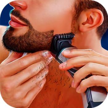 Handsome Hipster Beard Shaving Salon Simulator  Barber Shop 3D