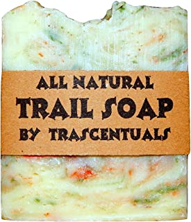 Camping Soap and Shampoo Bar for All Natural Environmentally Friendly Body and Hair Cleaning Great for Outdoor Activities and Hiking