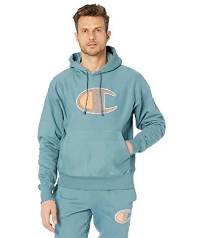 Champion LIFE Reverse Weave(r) Pullover Hoodie (Carefree Teal) Men