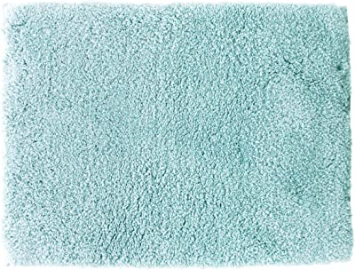 橋爪商店 浴室足ふきマット ブルー 約45cm×60cm エンジェルステップ バスマット