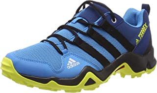 adidas Australia Boys Terrex Ax2R Trainers, Shock Cyan/Core Black/Shock Yellow
