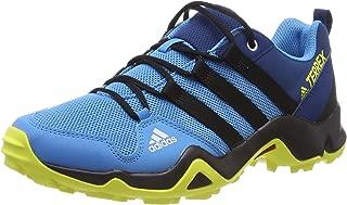 adidas Australia Boys Terrex Ax2R Trainers, Shock Cyan/Core Black/Shock Yellow