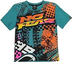 No Fear Kids Boys Moto Graphic T Shirt Junior Crew Neck Tee Top Short Sleeve