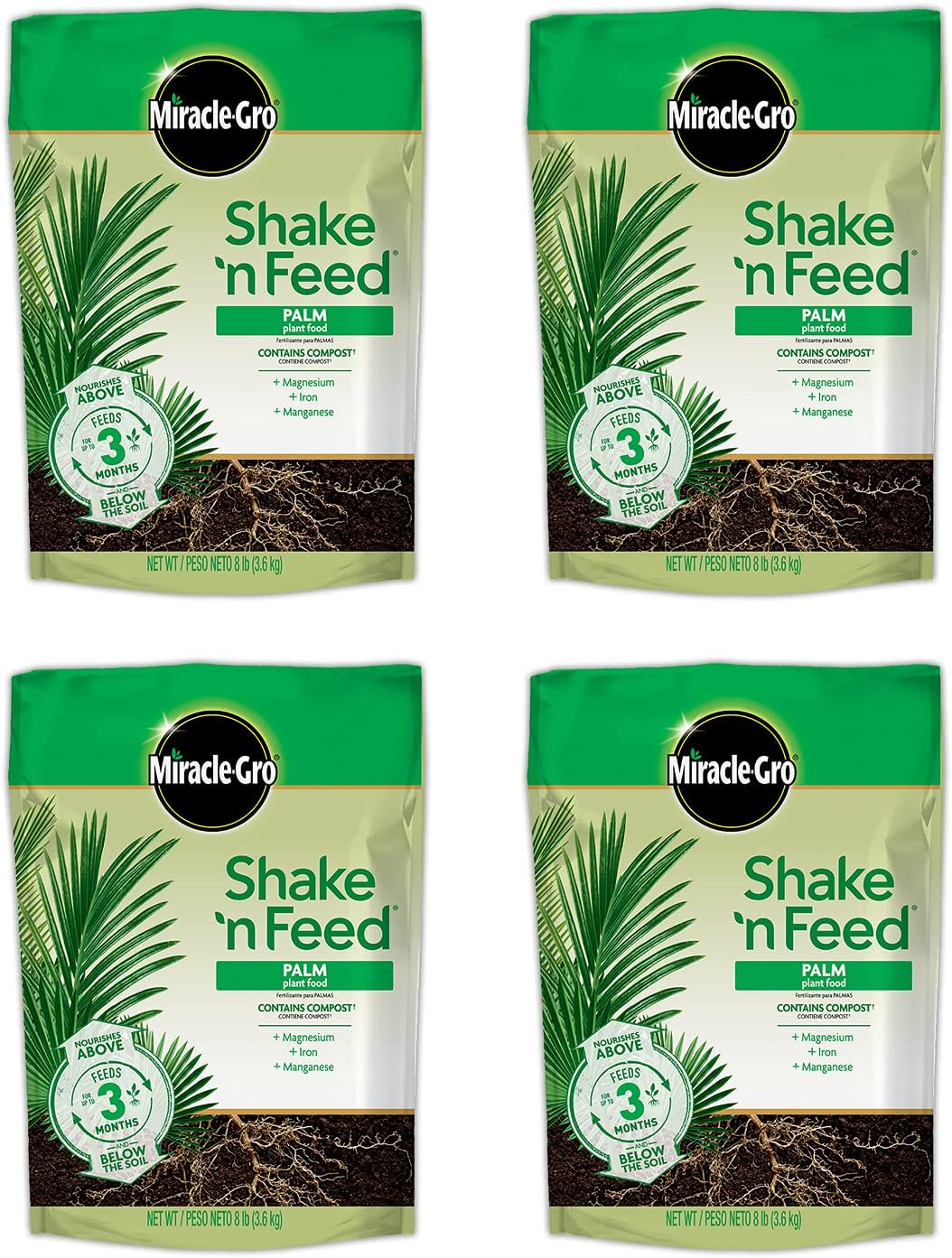 Miracle-Gro Shake Sales results No. 1 'N Feed Palm Today's only Bags Food Fer Plant Refill