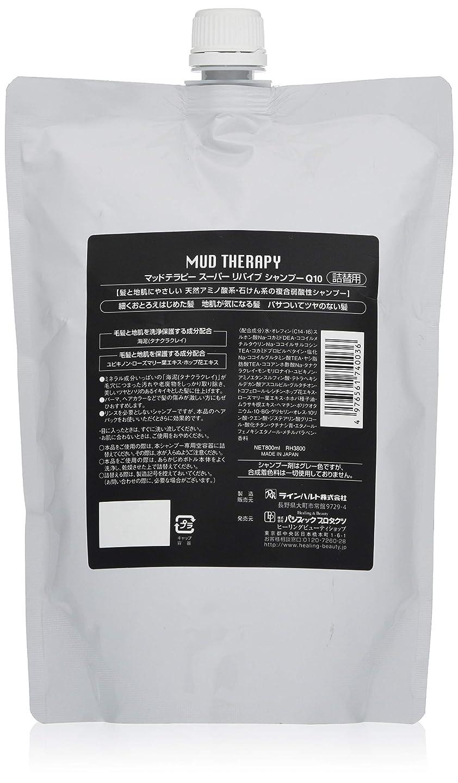 実際のランチ草マッドテラピー シャンプーQ10 800ml(詰め替え)