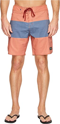 United By Blue Midstream Scallop Boardshorts