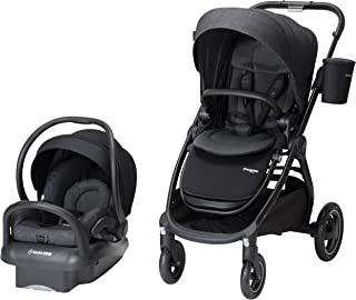 Maxi-Cosi Adorra 2.0 5-in-1 Modular Travel System with Mico Max 30 Infant Car Seat, Nomad Black