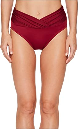 Miraclesuit Cat Walk Mid-Rise V-Kini Bottom