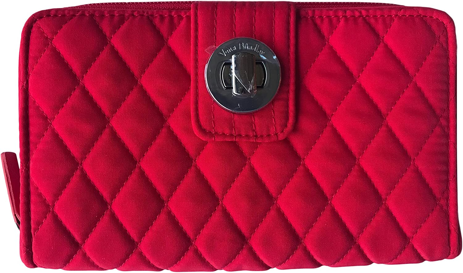 Vera Free Shipping Cheap Bargain Gift Translated Bradley Turnlock Wallet Red Fire