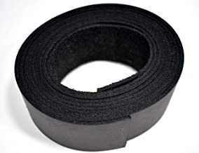 Leatherrush 8-10 Ounce Buffalo Leather Strip Strap Medium Brown 3//4 x 60 Inch