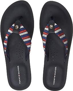 Tommy Hilfiger Women's Flat Beach Sandal Classic Outdoor