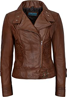 Carrie CH Hoxton Diseñador de Moda 100% de la Chaqueta de Cuero de la supermodelo de Las señoras Estilo 4110 del Motorista de Lambskin
