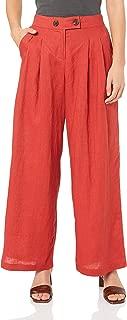 Suboo Women's Rising Sun Wide Leg Linen Pants