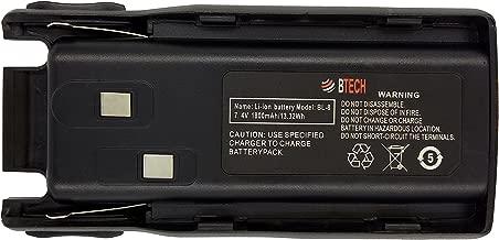 BTECH BL-8 Battery for BTECH GMRS-V1, MURS-V1, BaoFeng UV-82HP, UV-82C, UV-82 (All Models Including UV-82 Series)