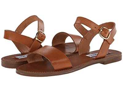 Steve Madden Donddi Sandal (Tan Leather) Women