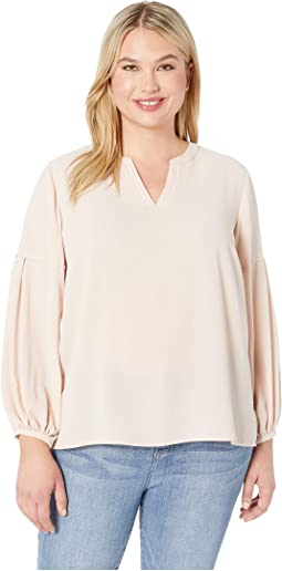 7e1f2b2bc4c Vince camuto long sleeve blouse w pintuck pleat detail | Shipped ...
