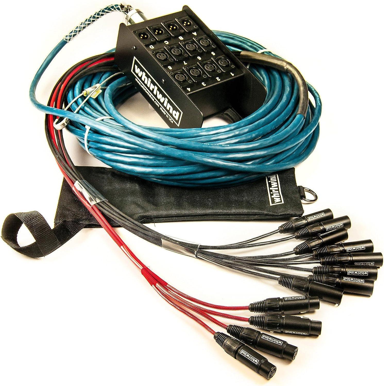 Whirlwind Audio Snake MEDUSA ELITE inputs Purchase returns 4 8 XLR Trust