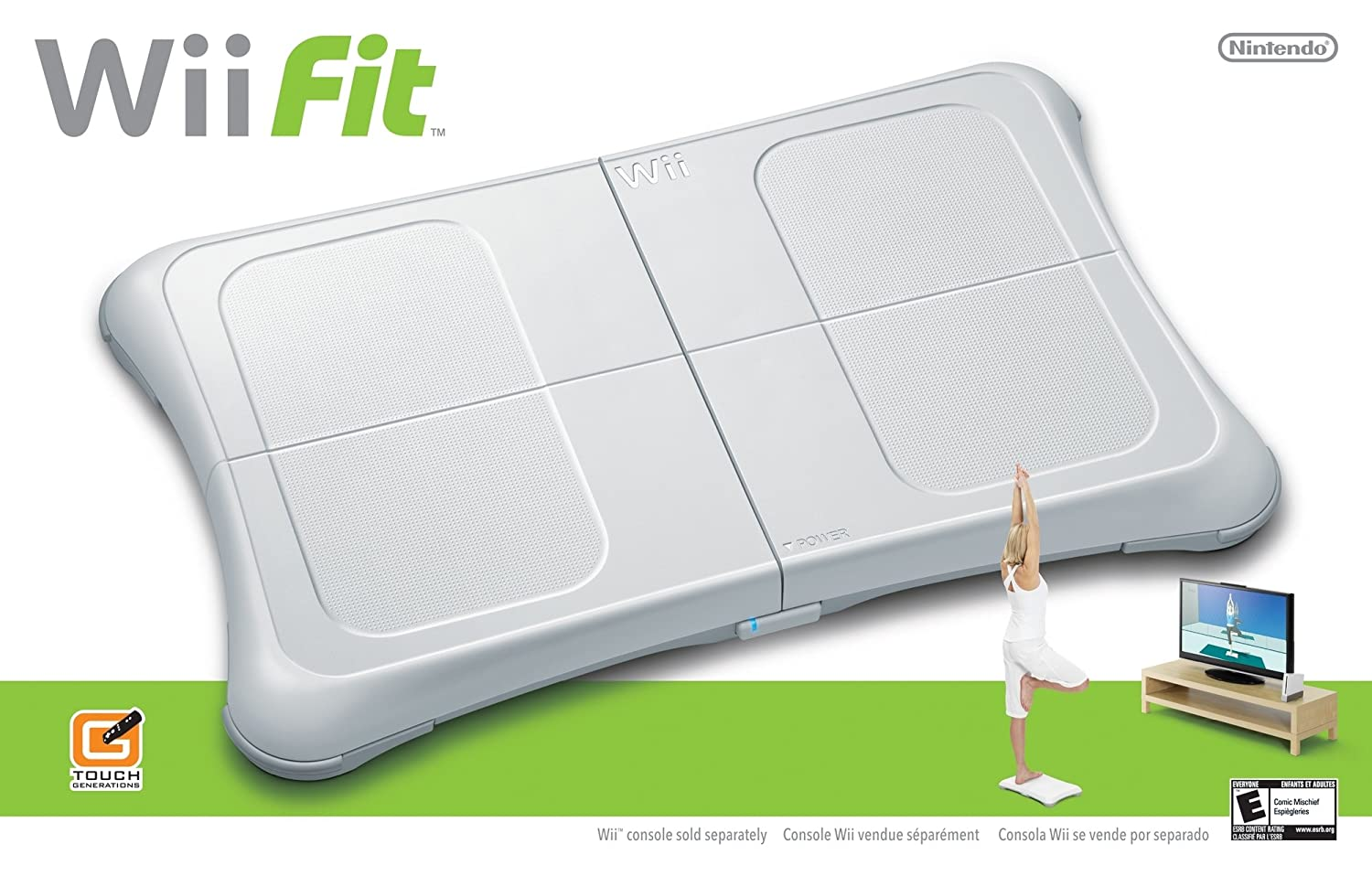 Wii Fit Game with Balance Board (Brand New, Bulk Packaging)