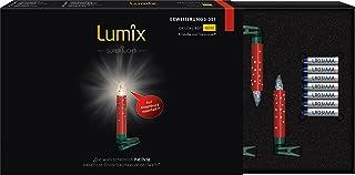 Krinner Lumix 75576Superlight Crystal velas Mini inalámbricas de expansión set, 0.01W, Rojo, 1.5x 1.5x 9cm