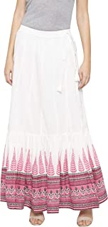 Globus Beigh Printed Skirt