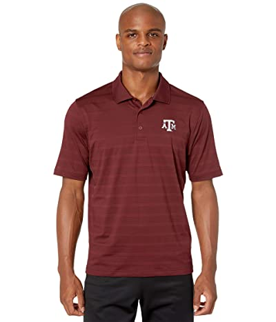 Champion College Texas AM Aggies Textured Solid Polo (Maroon 2) Men