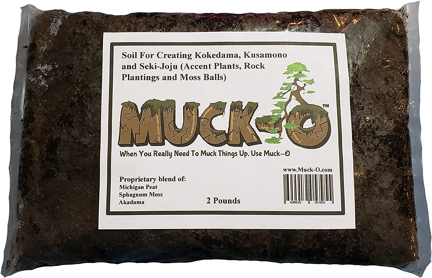 Muck-O New popularity Bonsai All stores are sold Muck Keto Soil for Making S Kusamono and Kokedama