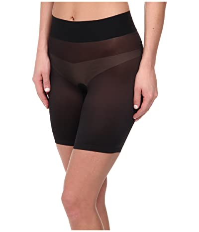 Wolford Sheer Touch Control Shorts (Black) Women
