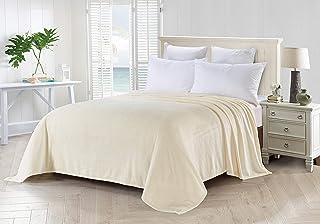 Foren Tex Manta para sofá y Cama de Franela (XL-3098) 300GMS Sin Pelusas No Suelta Pelo Tacto Suave y Cálida Varios Tamaños y Colores (270x230cm)