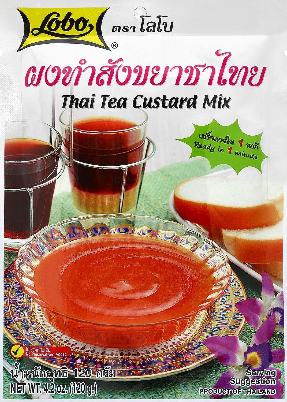 Lobo Thai Tea Custard Dessert Mix (Pack of 3)
