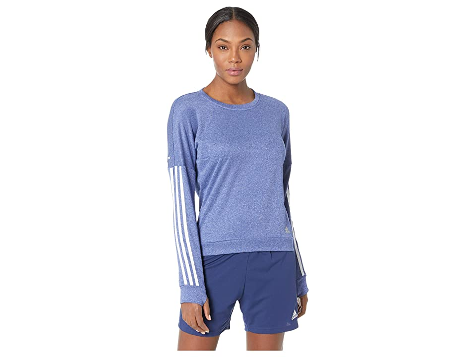 adidas Run Pullover (Mystery Ink F17) Women