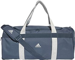 adidas 4athlts Duf M Borsa Sportiva, Unisex – Adulto, black/black/white, NS