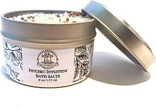 Psychic Intuition Herbal Bath Salts 6 oz Hoodoo Voodoo Wicca Pagan Magick