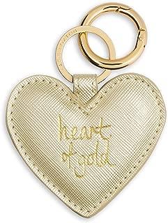 Heart Keyring - Heart of Gold - Metallic Gold