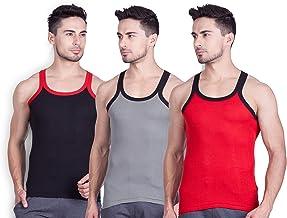 Lux Cozi Men's Cotton Vest (Pack of 3)