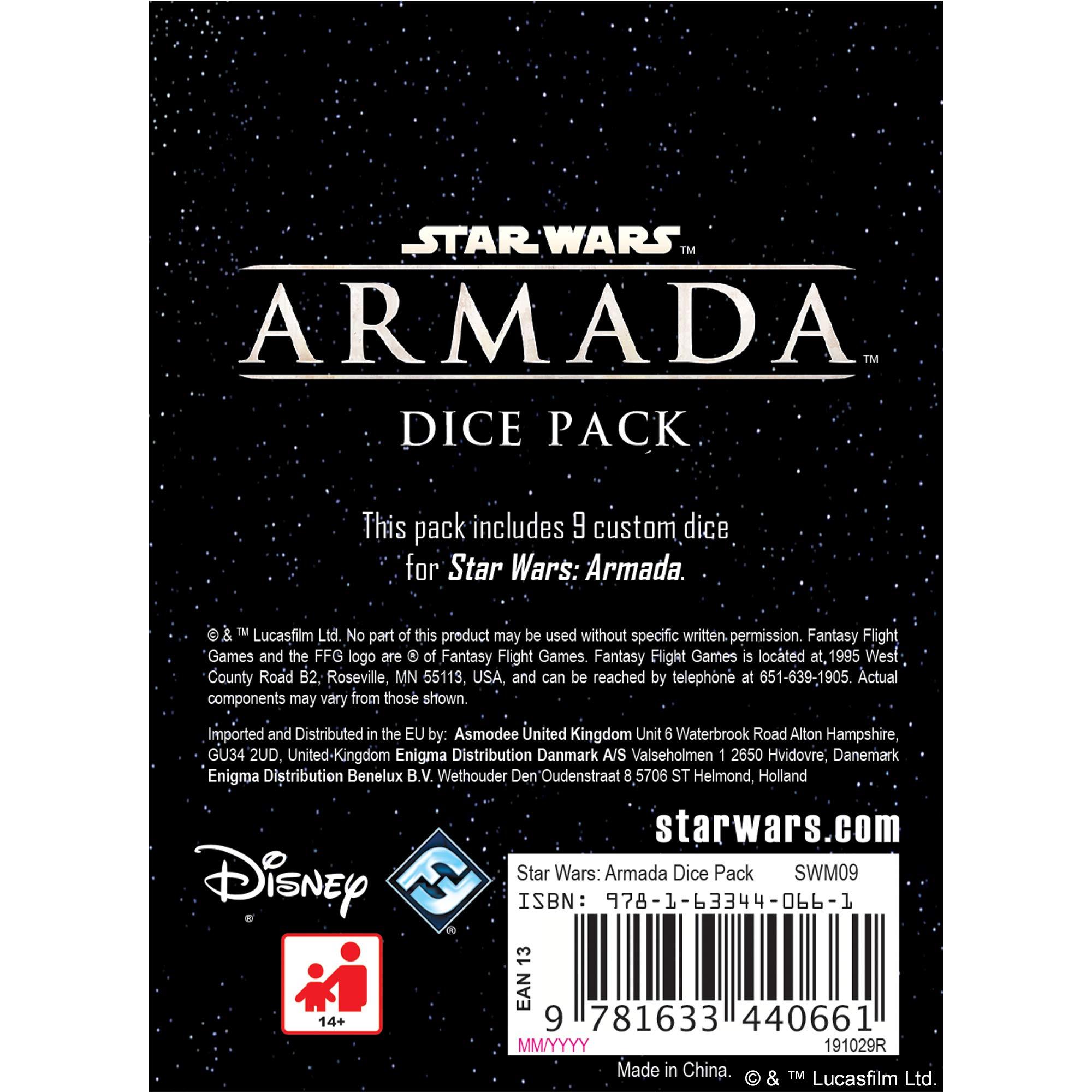 Star Wars Armada Dice Pack: Fantasy Flight Games: Amazon.es: Juguetes y juegos