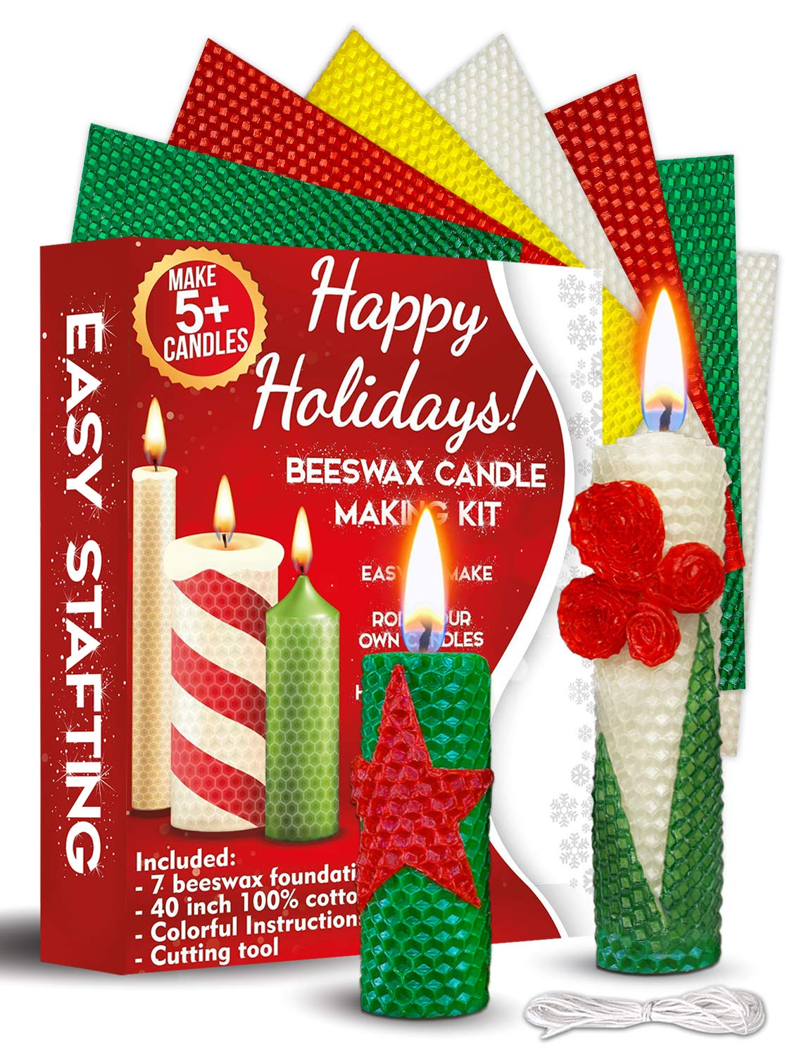 Candle Making Kit Beeswax How