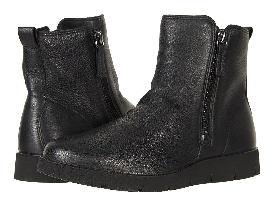 ECCO Bella Zip Boot (Black Cow Leather) Women