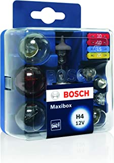Bosch Kit Lampadine H4, Maxibox