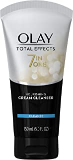 Facial Cleanser by Olay Total Effects Nourishing Cream Facial Cleanser, 5.0 Fluid Ounce Packaging may Vary