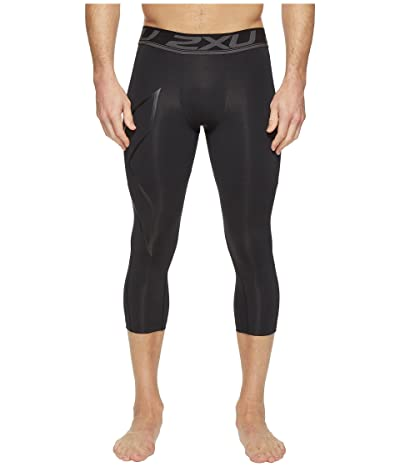 2XU Accelerate Compression 3/4 Tights (Black/Nero) Men